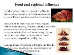cuisine by region cuisine