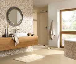 Bad Grau Mosaikfliesen Bad Gemtlich On Moderne Deko Ideen Plus Badezimmer
