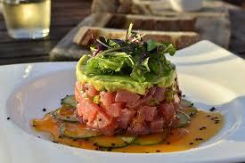 tartare cuisine acqua california bistro s yellowfin tuna tartare honest cooking