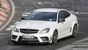 mercedes c63 amg 2 door mercedes the c 63 amg coupe scooped with track