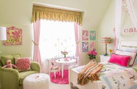 Pink And Lime Green Bedroom - bedroom awesome bedrooms with sloped ceiling and pink walls