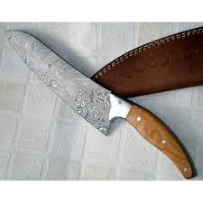 wood handle kitchen knives kitchen knife custom handmade damascus steel kitchen best damascus