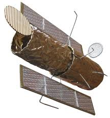 make a satellite out of a cardboard box google search