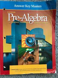 answer key masters glencoe pre algebra glencoe pre algebra