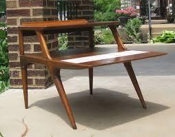Mid Century Modern Outdoor Furniture Mid Century Modern End Tables Value Tedxumkc Decoration