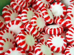peppermint candy wreath hgtv