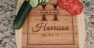 personlized cutting boards personalized cutting board 9 99 southern savers