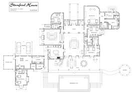 2nd Floor Plan Design Luxury Floor Plans Stanford House Luxury Villa Rental In