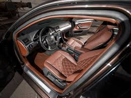 Audi A4 B6 Custom Interior Quilted Leather Seats Google Search Auto Interiors Pinterest