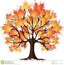 maple tree cartoon clipart