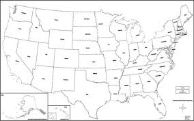 united states map black and white map colorprint united states county town color wall map