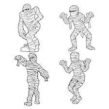 halloween mummy cuttable design