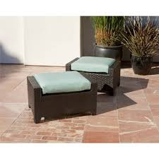 Patio Chair With Ottoman by Rst Brands Bliss 5 Piece Club Chairs And Ottomans Patio Set Free