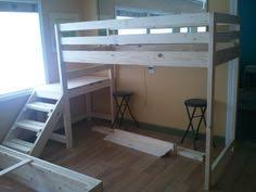 Ana White Camp Loft Bed With Stair Junior Height Diy Projects by Two Camp Loft Beds Do It Yourself Home Projects From Ana White