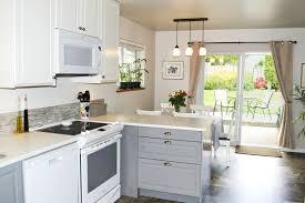 ikea bodbyn grey kitchen cabinets ikea s bodbyn cabinets make a dramatic after