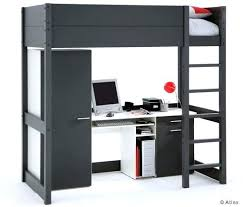 bureau 2 places d coratif lit mezzanine avec bureau ikea 2 places superposac