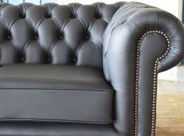 Grey Leather Chesterfield Sofa Clarendon Leather Chesterfield Sofa Abode Sofas