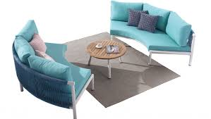 Curved Sofa Set Venice Curved Sofa Set For 4 With Coffee Table