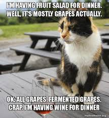 Fruit Salad For Dinner Meme - i m having fruit salad for dinner well it s mostly grapes actually