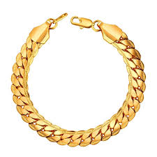 rose gold hand bracelet images Rock punk big bracelets bangles hand chain trendy jewelry jpg