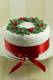Christmas Cake Decorations Marzipan awesome christmas cake decorating ideas family holiday net guide