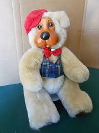 Wooden Faced Teddy Bears Raikes Bears Royal Court King William Wood Face Tag Certificate