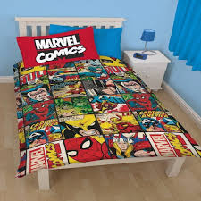 Marvel Double Duvet Cover Comic Book Duvet Cover Sweetgalas