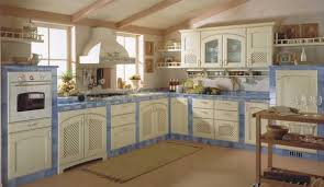Blue And White Kitchen Kitchen Cabinet Doors With Faux Iron Inserts From Faux Iron