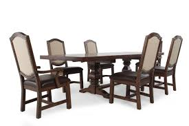 72 round dining room table seven piece traditional 72 u0027 u0027 to 108 u0027 u0027 dining set in light oak