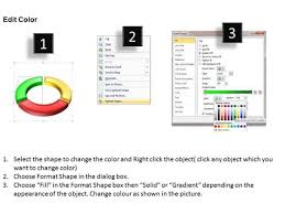 ppt half circle powerpoint 2010 divided into 3 segments templates