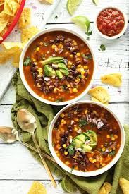 black bean tortilla soup minimalist baker recipes