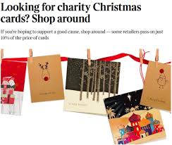 the card industry is bruised by some unfair criticism charity