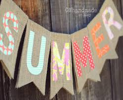summer burlap banner vendor fair ideas pinterest burlap