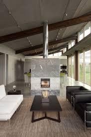 residential design inspiration modern central fireplaces studio