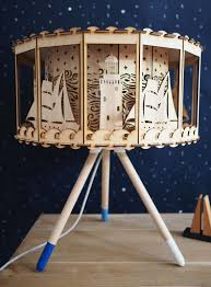 nautical decor carousel table lamp carousel lamp is a shining and