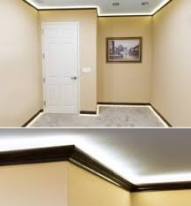 Ceiling Light Crown Molding by How To Install Led Cove Lighting Superbrightleds Com