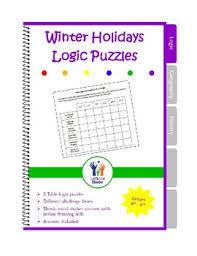 christmas logic puzzles santas reindeers a christmas game by