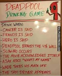 Meme Drinking Game - funny memes deadpool drinking game thatdoge