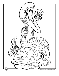 little mermaid 2 coloring pages page 1 page 2 page 3 mermaid