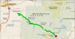 map of hwy 58 oregon oregon route 58 motorcycle roads northwest