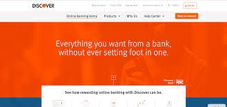 discover bank online banking login bank login