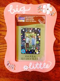 sorority picture frame big picture frame crafts for days big