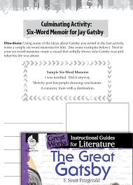 The Great Gatsby Post Reading Activities Teachers Classroom