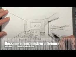 comment dessiner une chambre en perspective dessiner en perspective intérieure