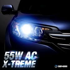 nissan pathfinder xenon lights genssi h4 hid kit headlight bulbs white blue xenon conversion