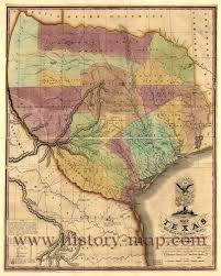 Old Texas Map Map Of Texas