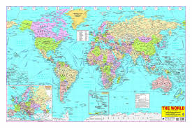 India Map With States by Buy World Map Book Online At Low Prices In India World Map