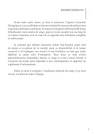 rapport de stage cuisine exemple d intro d une dissertation formation complète