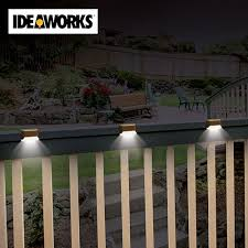 menards solar deck lights solar deck lighting sooprosports com