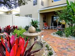 native florida plants for home landscapes florida landscape design ideas courtyard features construction
